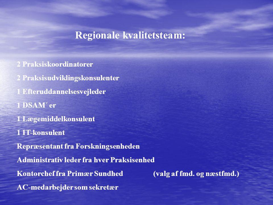 Regionale kvalitetsteam: