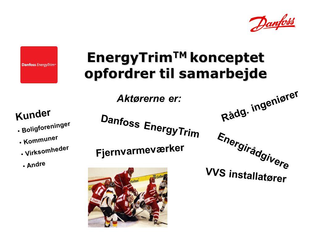 EnergyTrimTM konceptet opfordrer til samarbejde