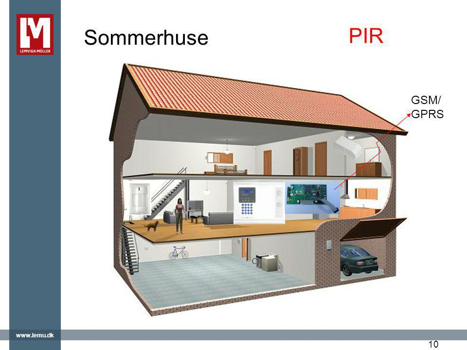 Sommerhuse PIR GSM/GPRS