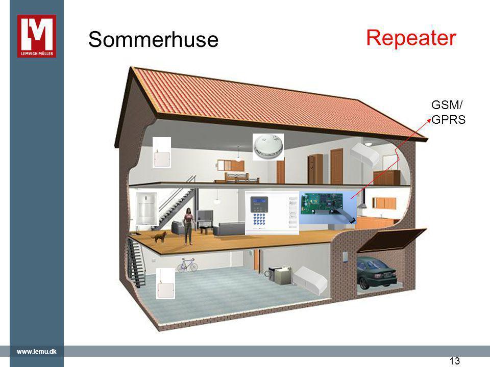 Sommerhuse Repeater GSM/GPRS