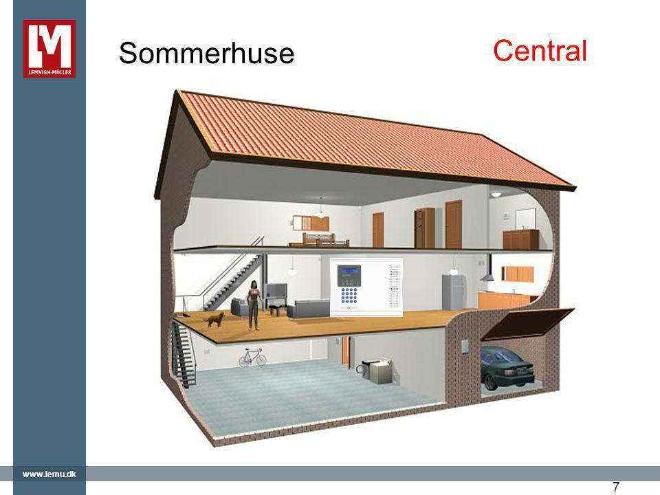 Sommerhuse Central