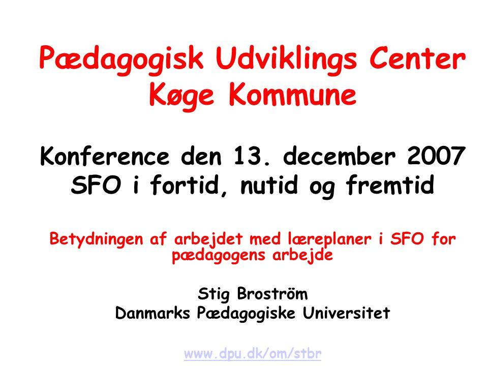 Pædagogisk Udviklings Center Køge Kommune