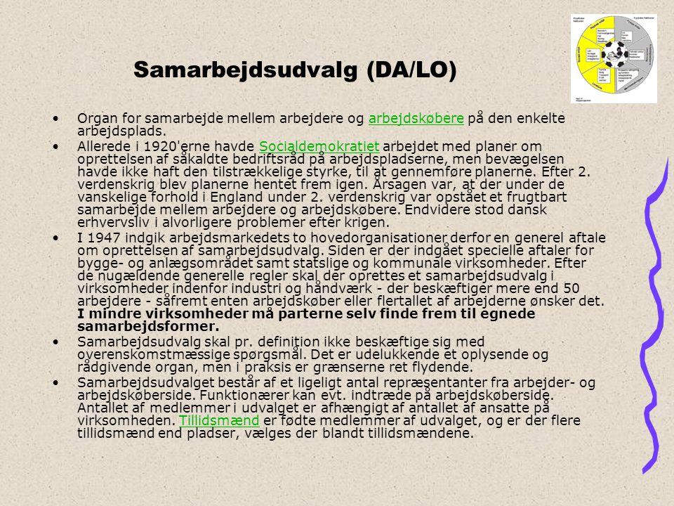 Samarbejdsudvalg (DA/LO)