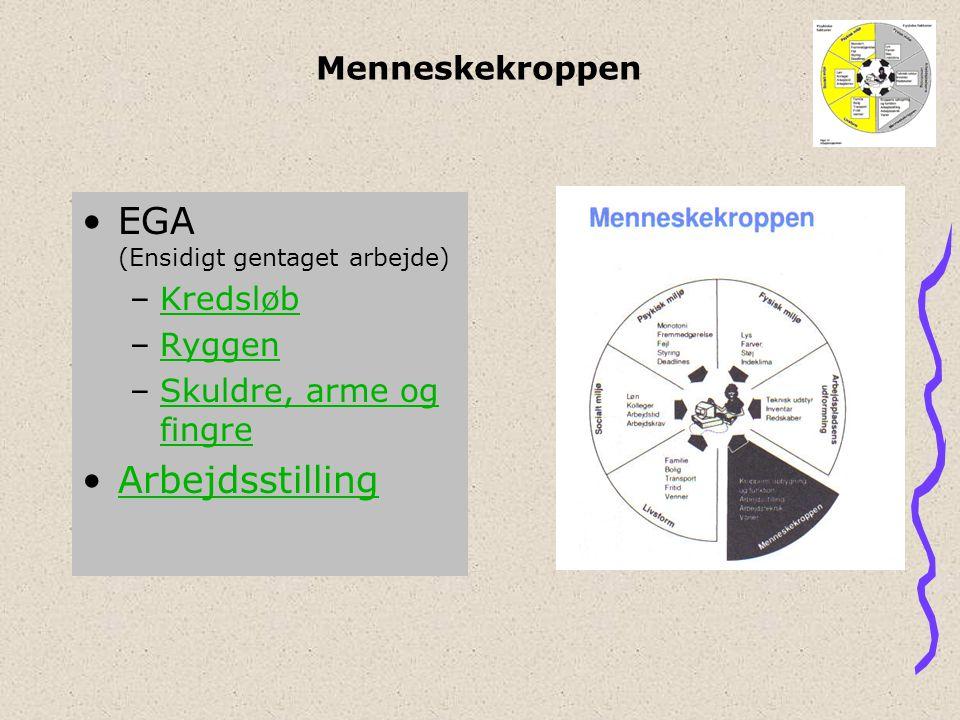 EGA (Ensidigt gentaget arbejde)