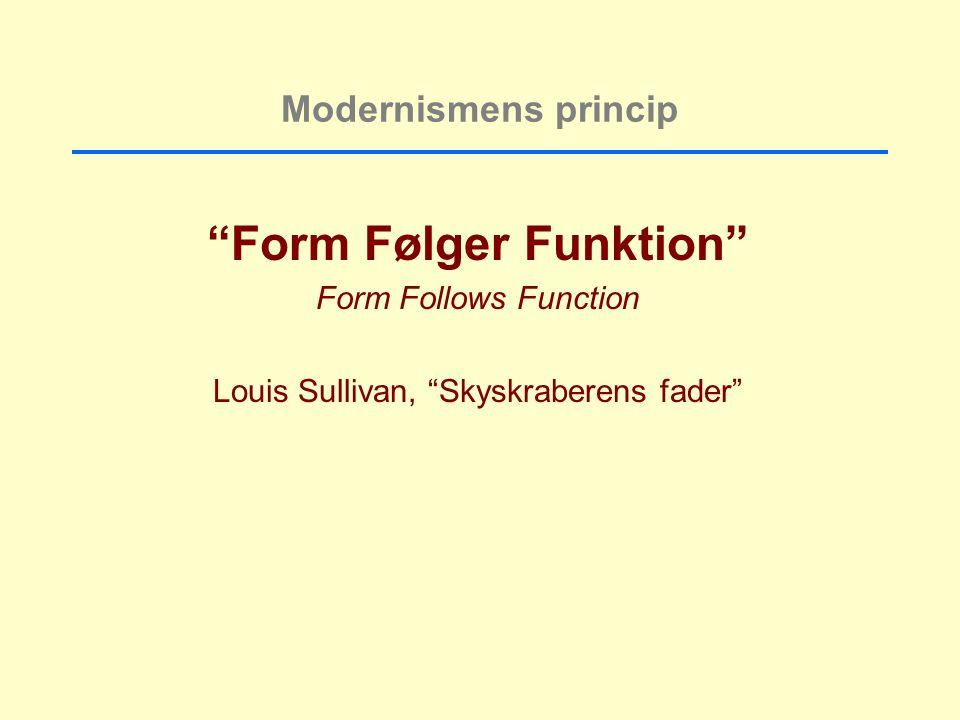 Form Følger Funktion