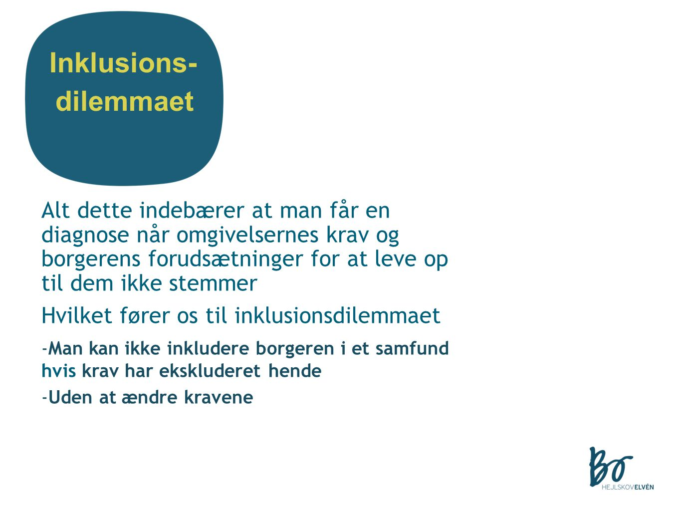 Inklusions- dilemmaet