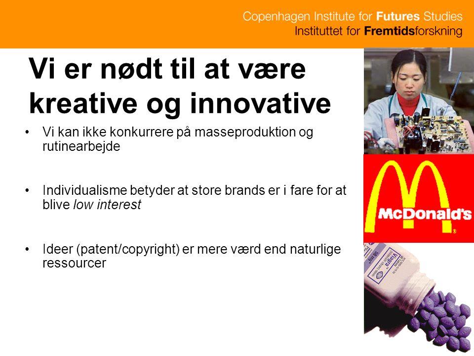 Vi er nødt til at være kreative og innovative