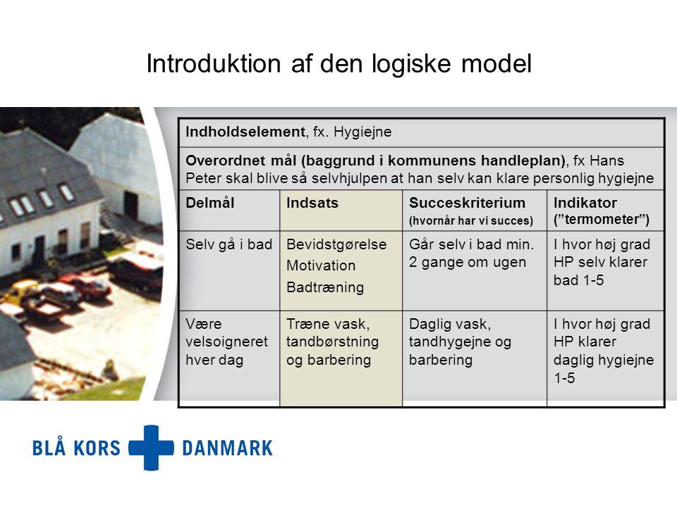Introduktion af den logiske model