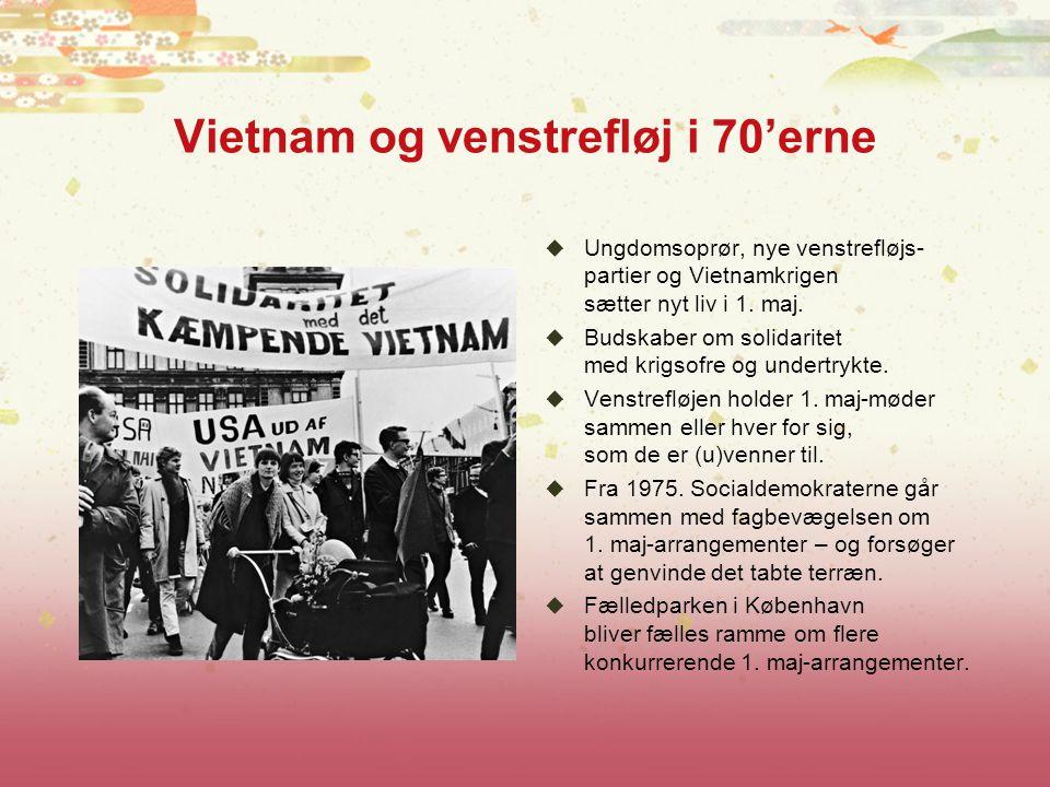 Vietnam og venstrefløj i 70'erne