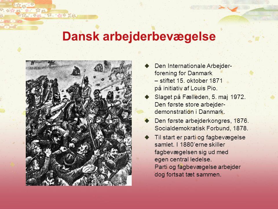 Dansk arbejderbevægelse
