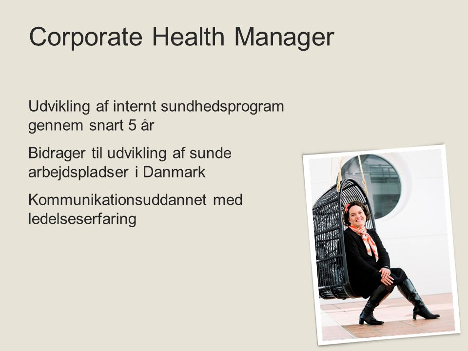 Corporate Health Manager