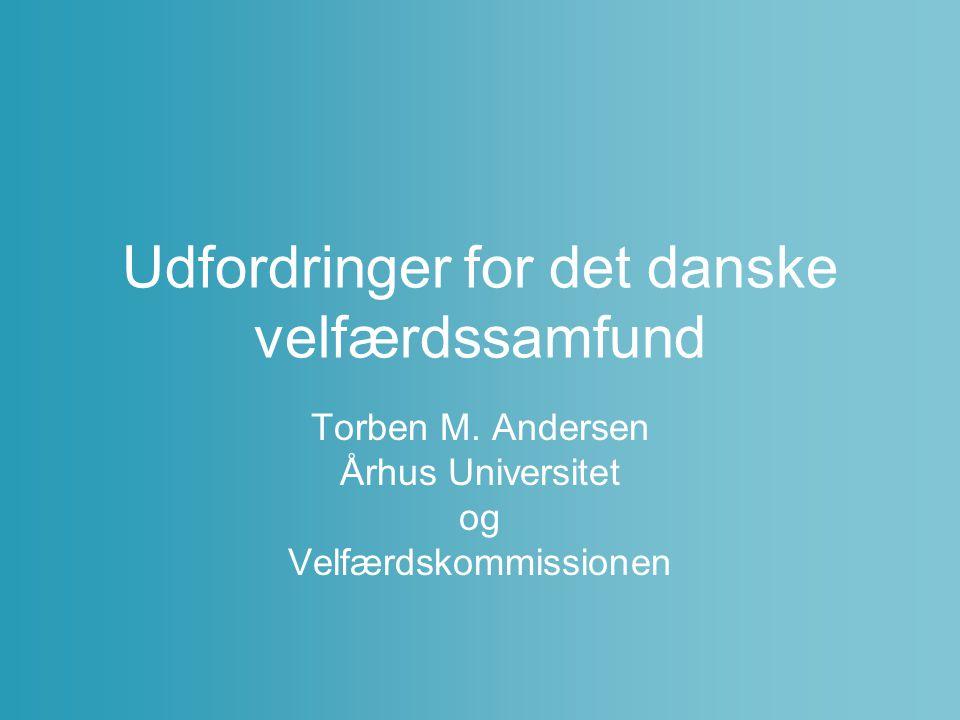 Udfordringer for det danske velfærdssamfund