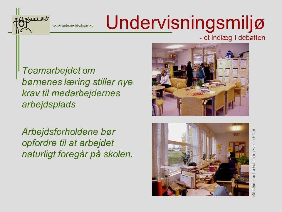 Undervisningsmiljø - et indlæg i debatten