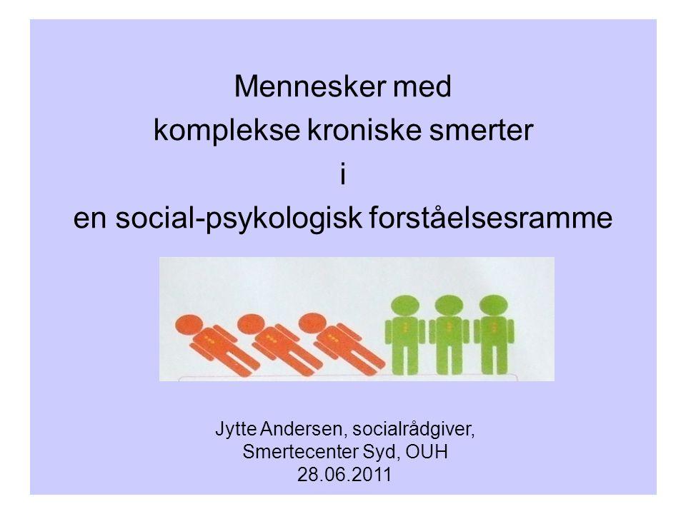 Jytte Andersen, socialrådgiver,