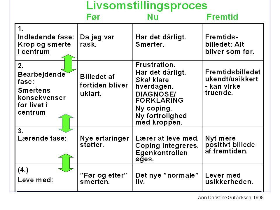 03-04-2017 Ann Christine Gullacksen, 1998. Socialrådgiver Jytte Andersen, Smertecenter Syd, Odense Universitetshospital.