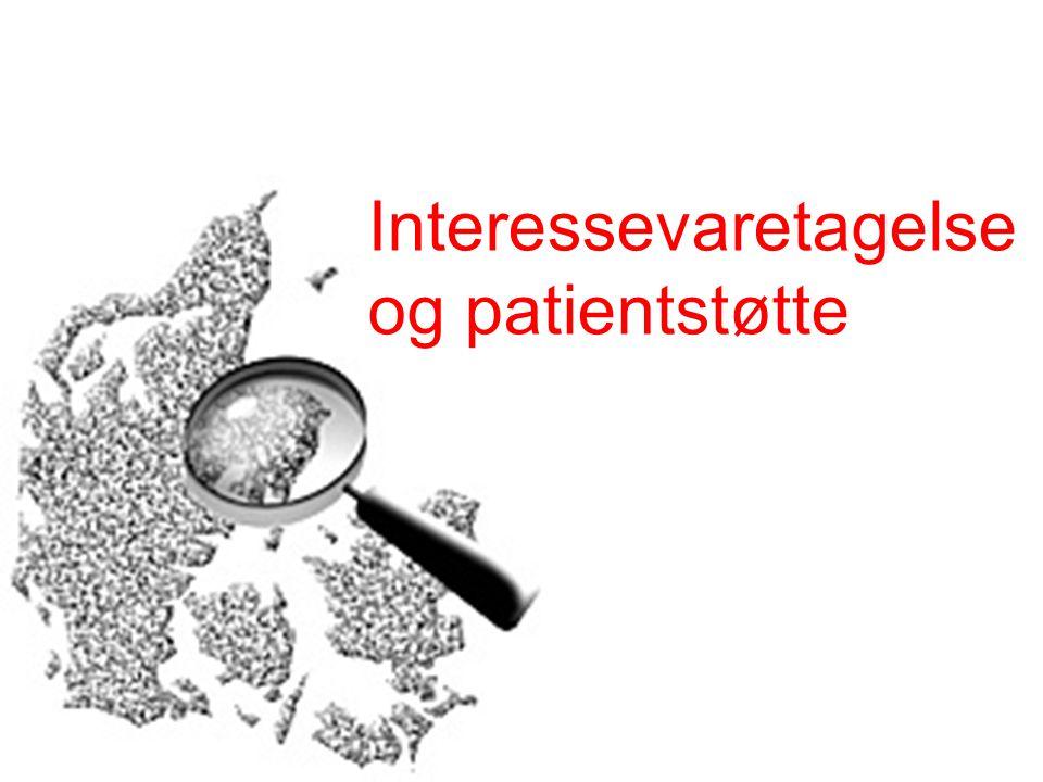 Interessevaretagelse og patientstøtte