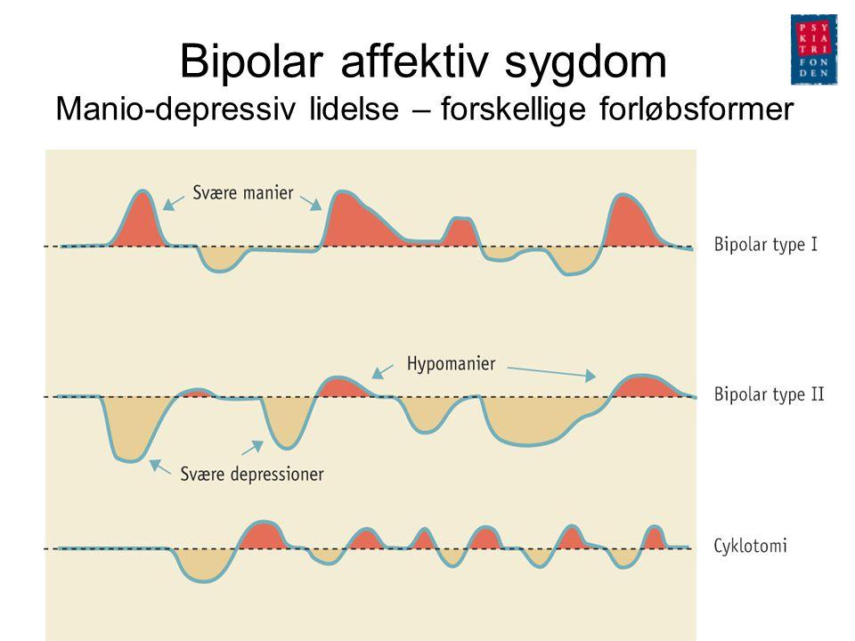 Bipolar affektiv sygdom Manio-depressiv lidelse – forskellige forløbsformer