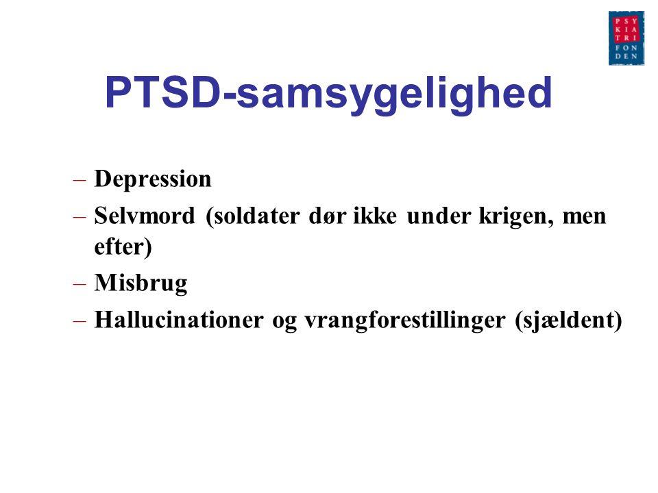 PTSD-samsygelighed Depression