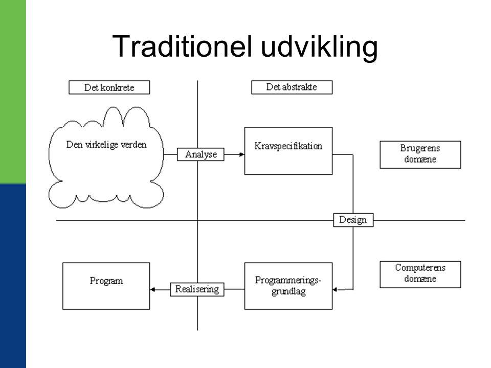 Traditionel udvikling