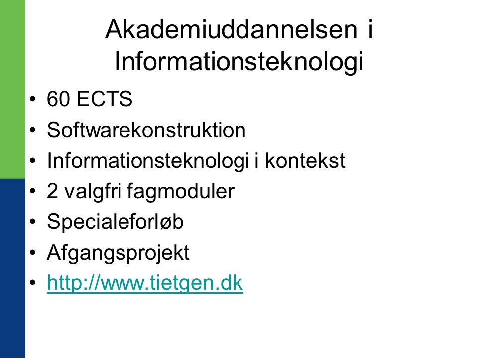 Akademiuddannelsen i Informationsteknologi