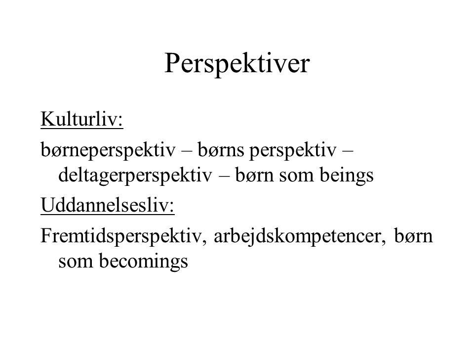 Perspektiver Kulturliv: