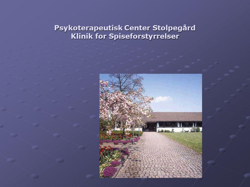 Psykoterapeutisk Center Stolpegård Klinik for Spiseforstyrrelser