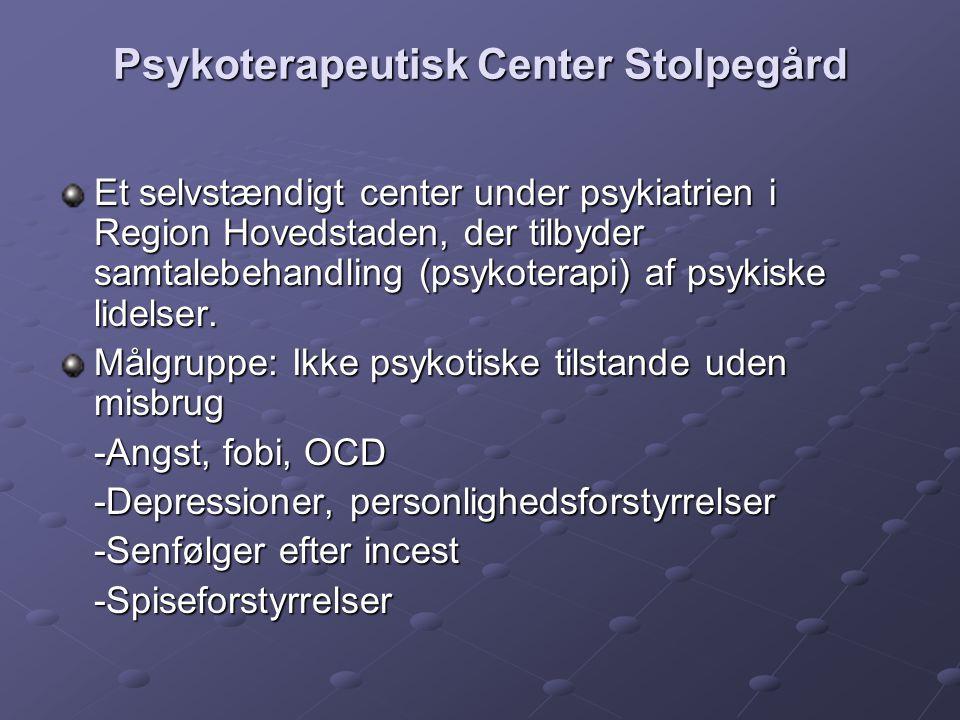 Psykoterapeutisk Center Stolpegård