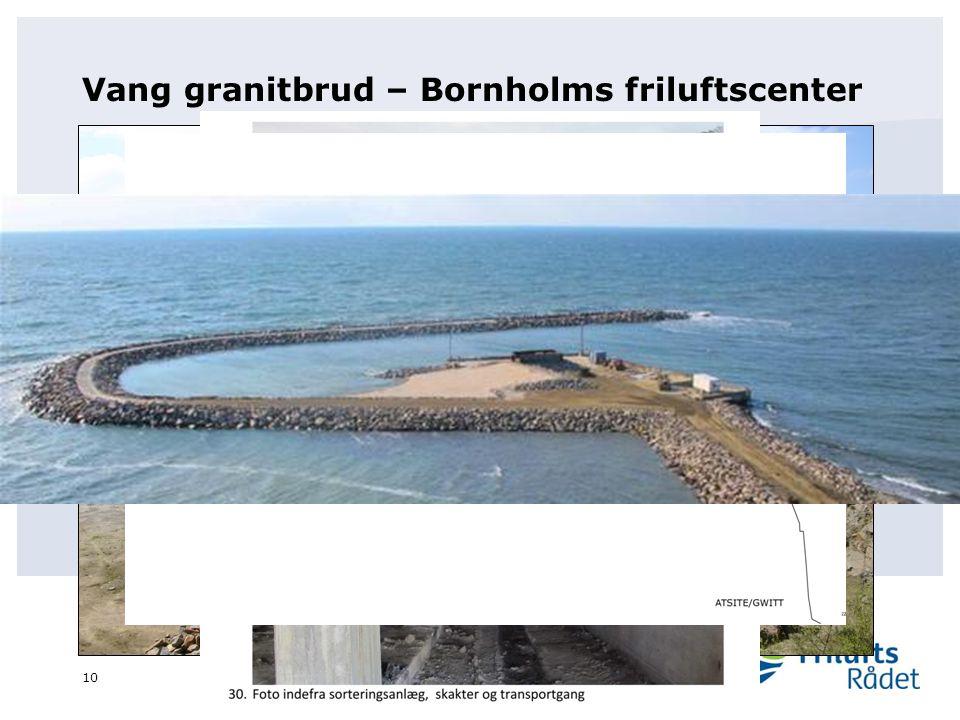 Vang granitbrud – Bornholms friluftscenter