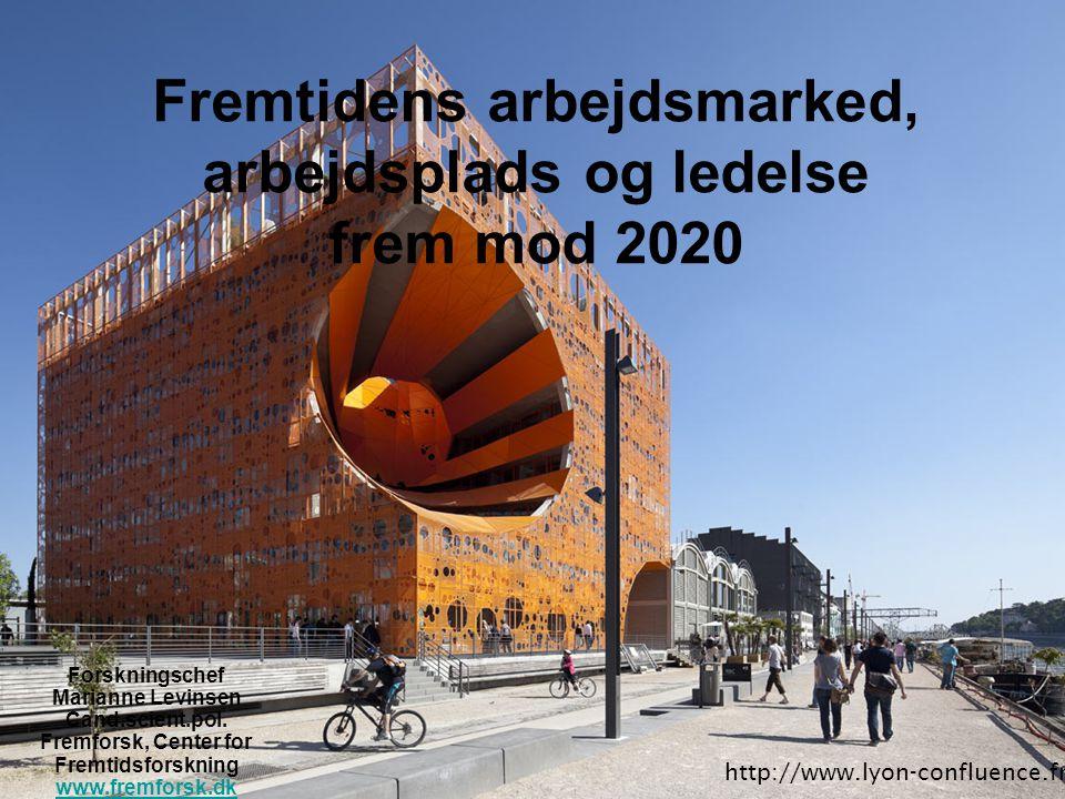 Fremtidens arbejdsmarked, arbejdsplads og ledelse frem mod 2020