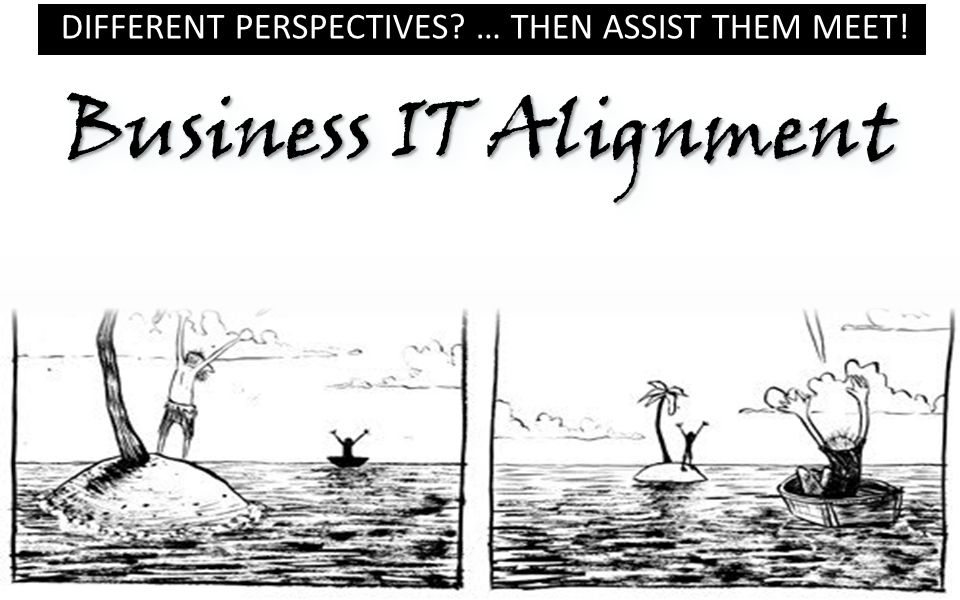 Different Perspectives … Then assist them meet!
