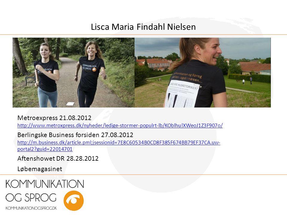 Lisca Maria Findahl Nielsen