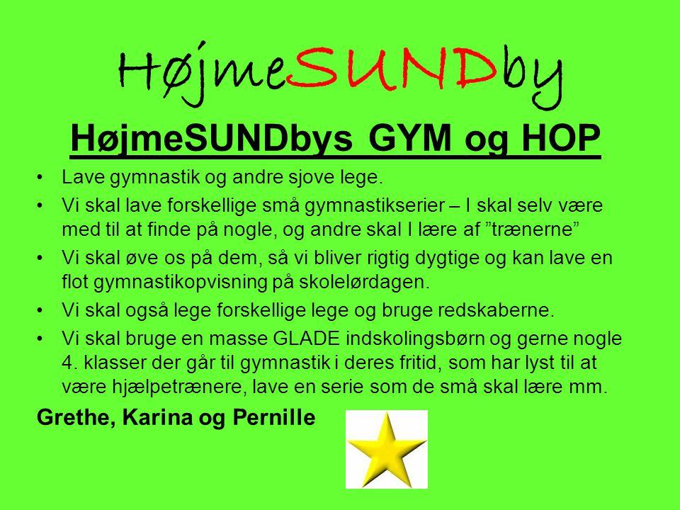 HøjmeSUNDbys GYM og HOP