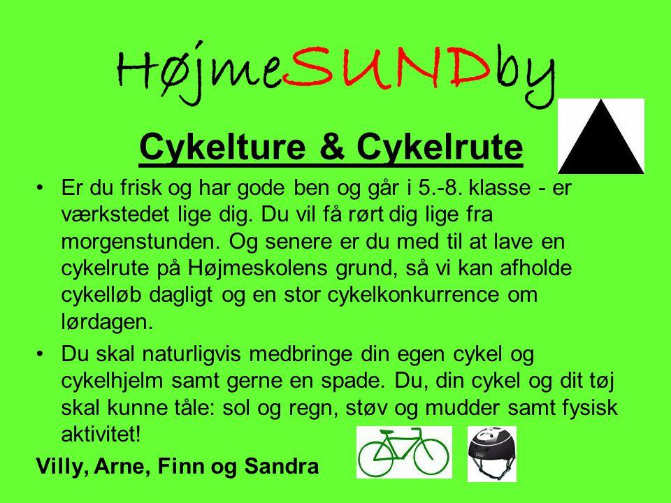 HøjmeSUNDby Cykelture & Cykelrute