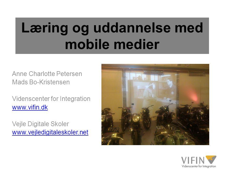 Læring og uddannelse med mobile medier