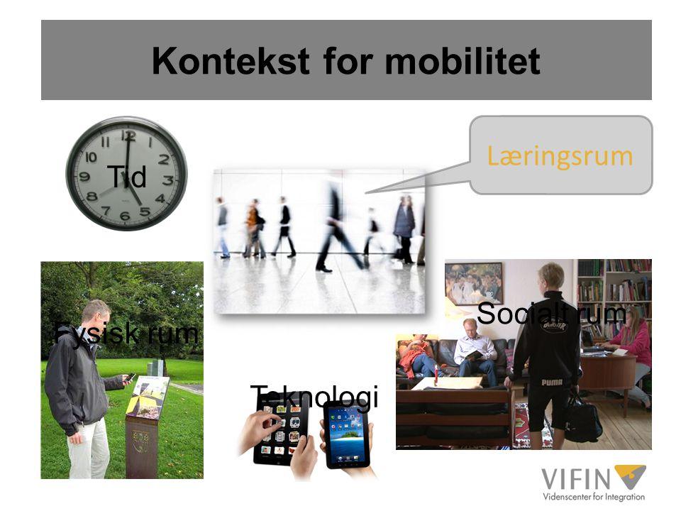 Kontekst for mobilitet