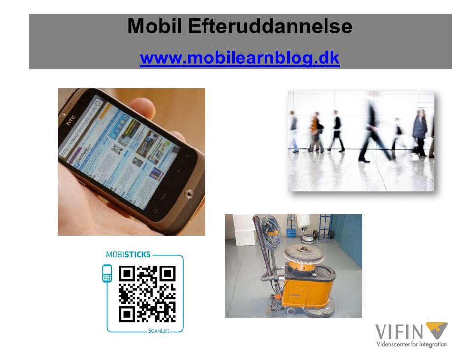 Mobil Efteruddannelse www.mobilearnblog.dk