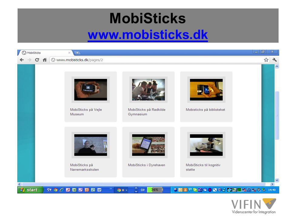 MobiSticks www.mobisticks.dk