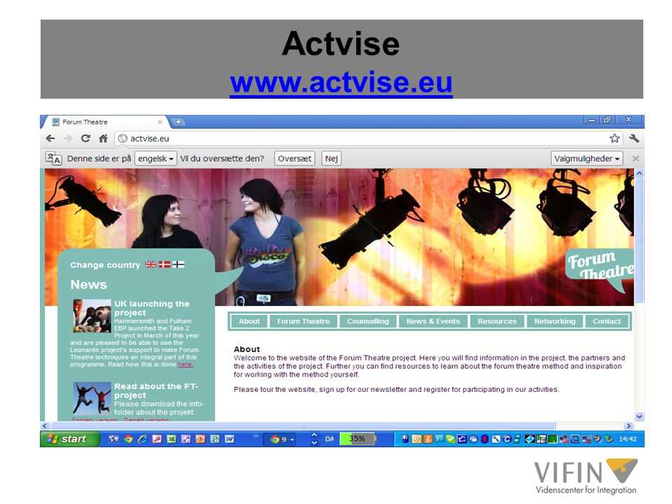 Actvise www.actvise.eu