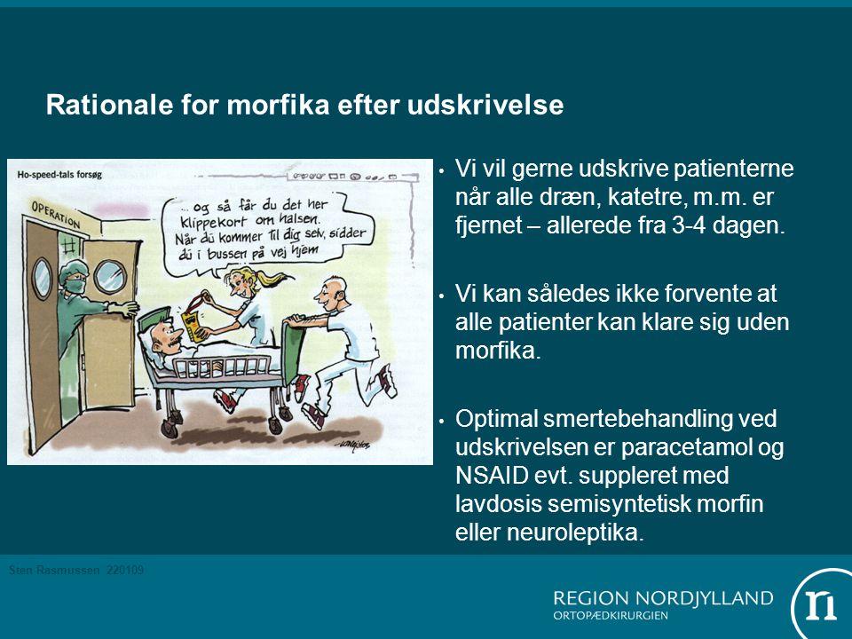 Rationale for morfika efter udskrivelse