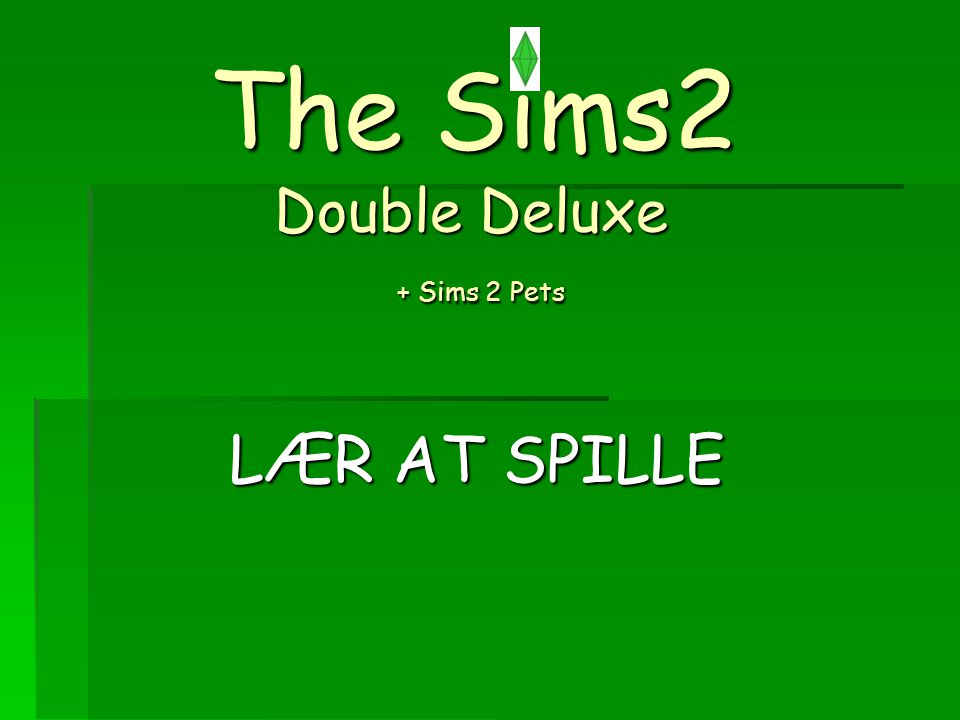 The Sims2 Double Deluxe + Sims 2 Pets