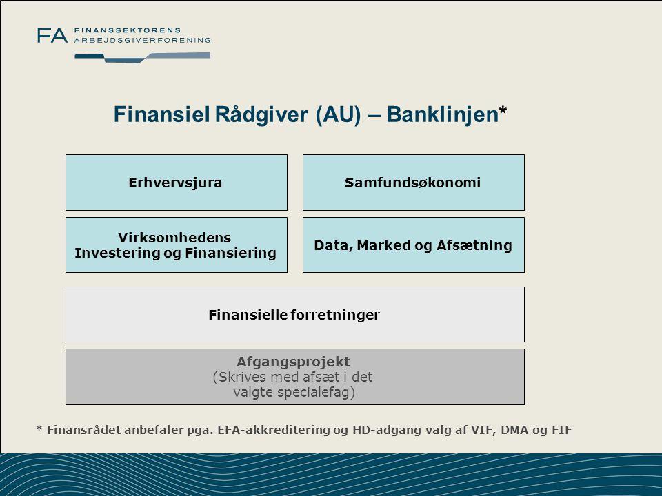 Finansiel Rådgiver (AU) – Banklinjen*