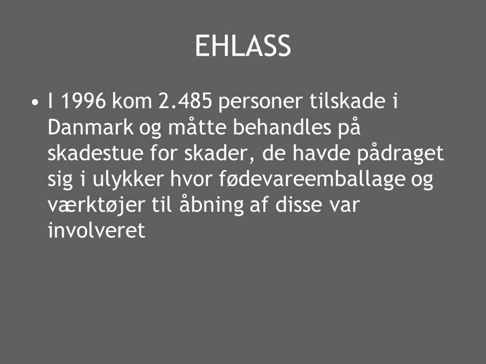 EHLASS