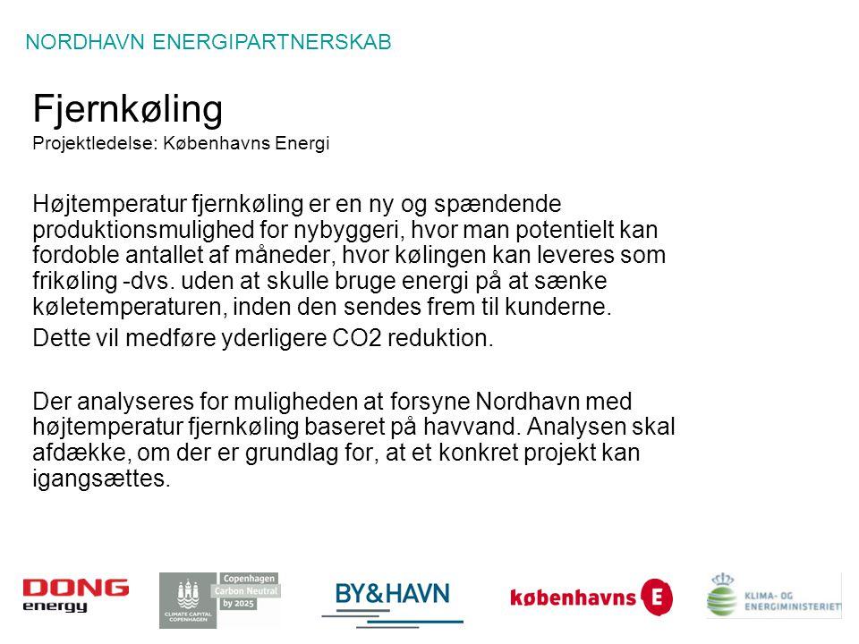Fjernkøling Projektledelse: Københavns Energi