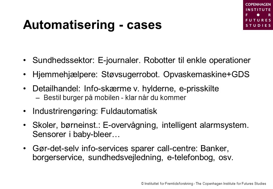 Automatisering - cases