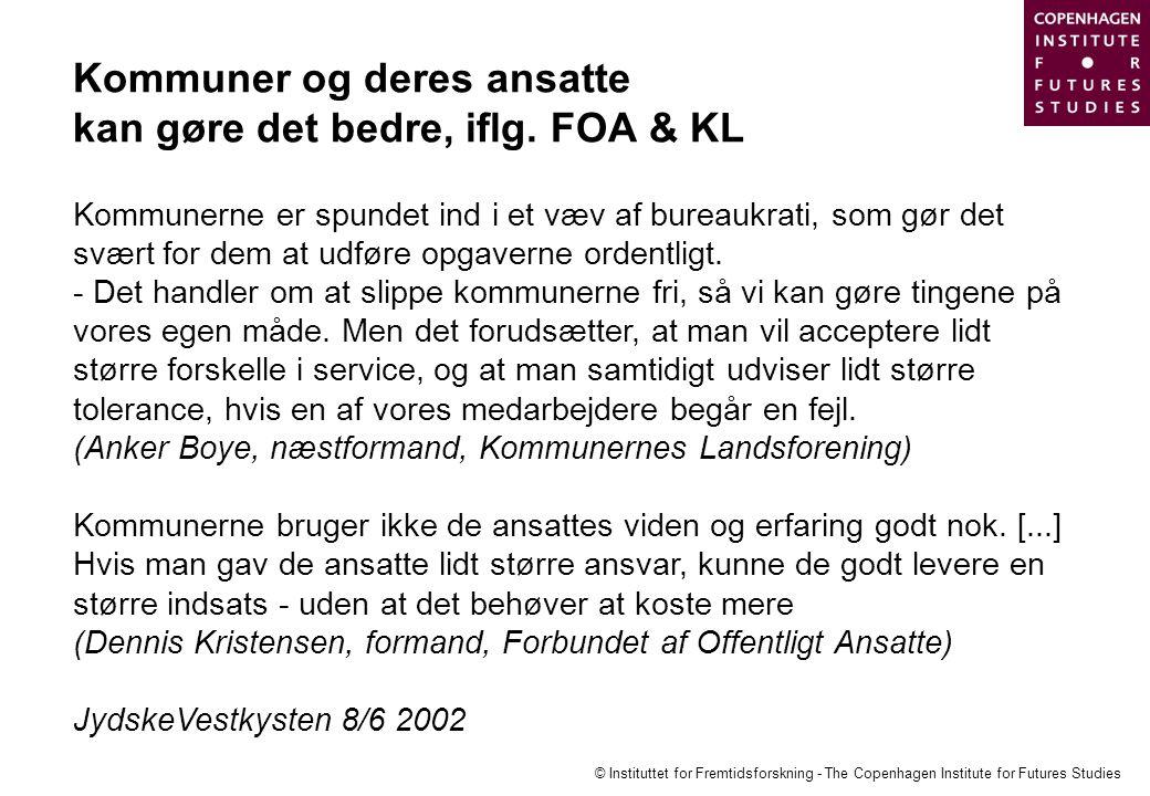 Kommuner og deres ansatte kan gøre det bedre, iflg. FOA & KL