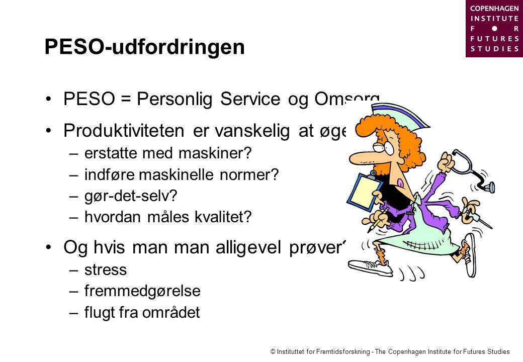 PESO-udfordringen PESO = Personlig Service og Omsorg