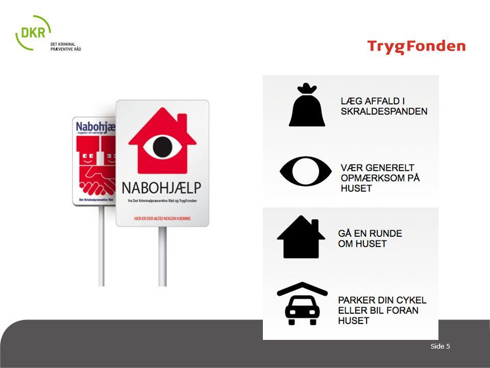 Så vi har: Ny officiel og GRATIS mærkning, der kommunikerer klart til tyven – og som er med til at gøre nabohjælpen mere officiel.