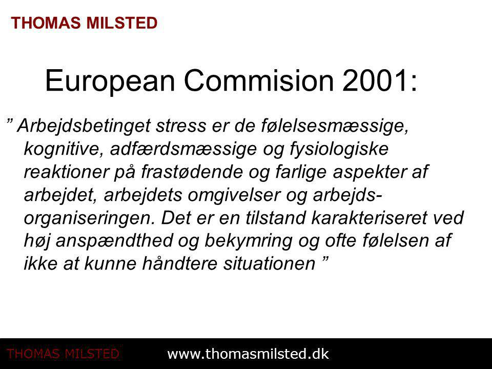 European Commision 2001: