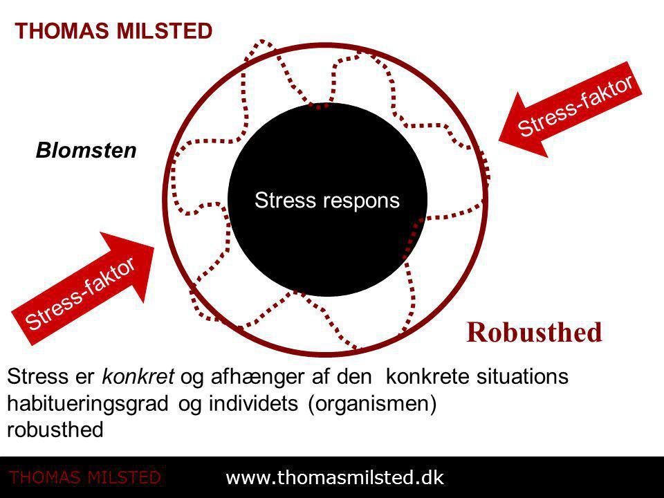 Robusthed Stress-faktor Blomsten Stress respons Stress-faktor