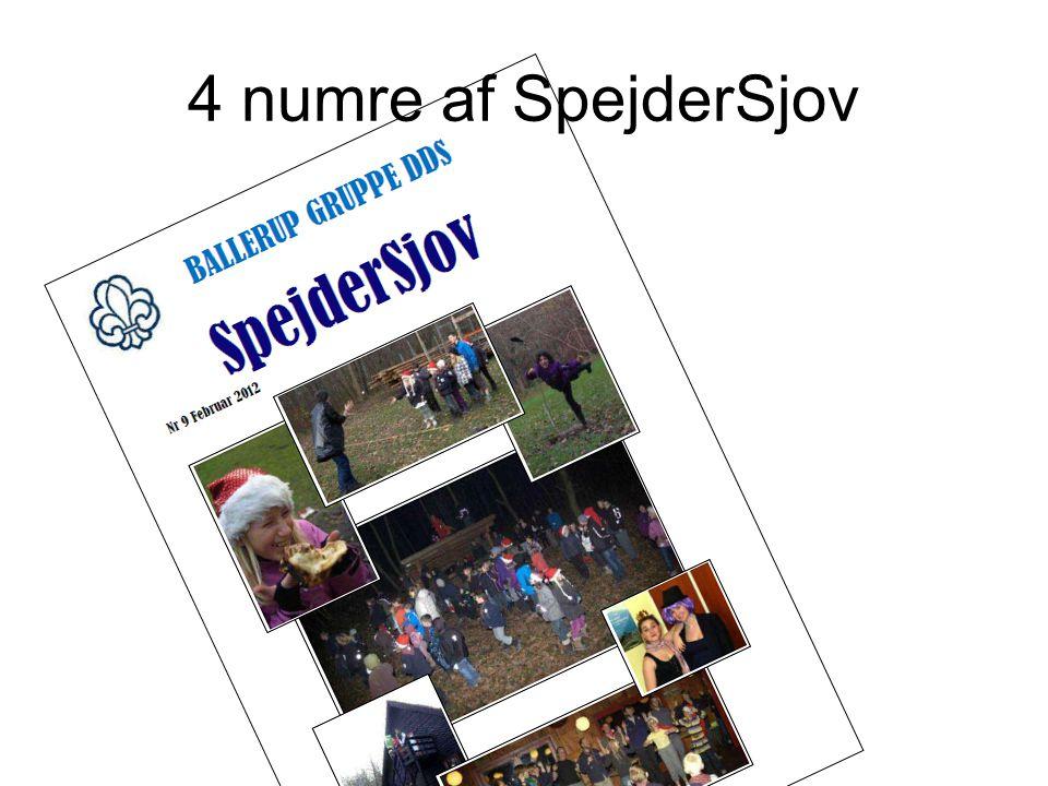 4 numre af SpejderSjov
